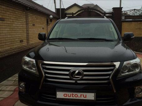 Купить Lexus LX пробег 100 000.00 км 2012 год выпуска