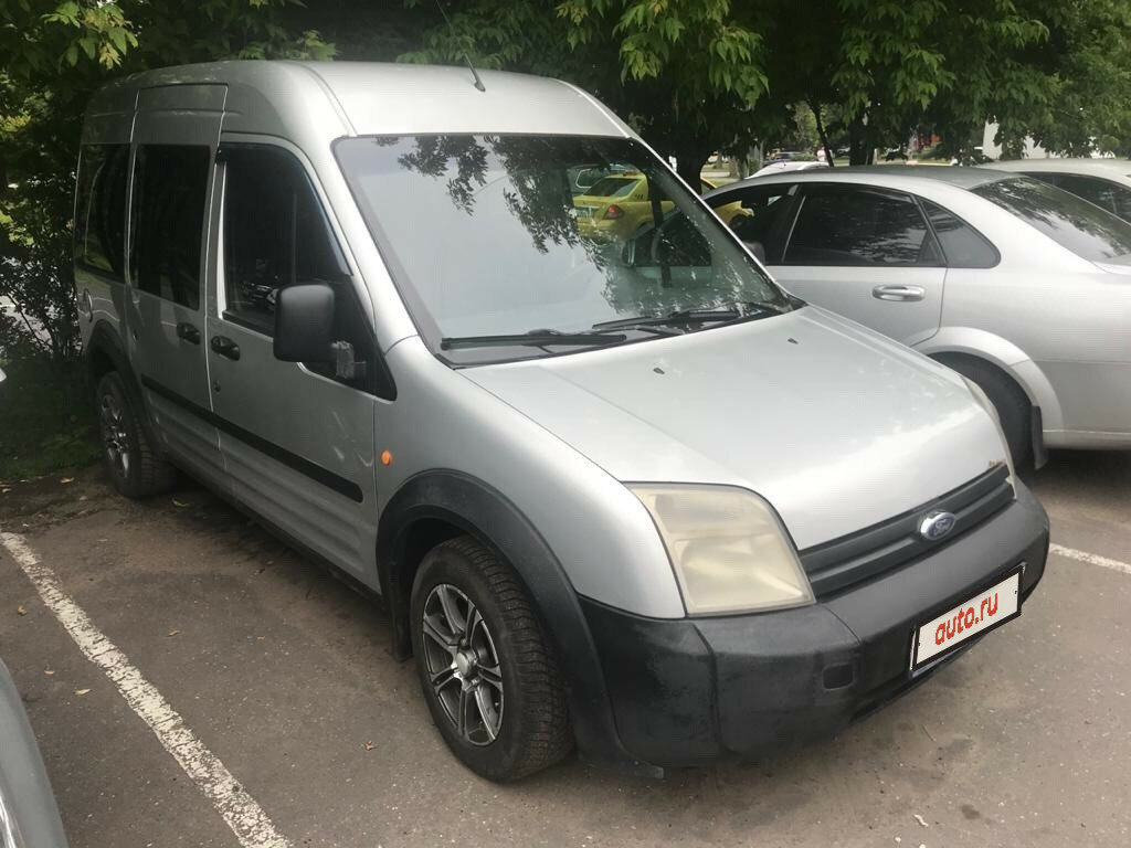 2008 Ford Transit Connect, серебристый