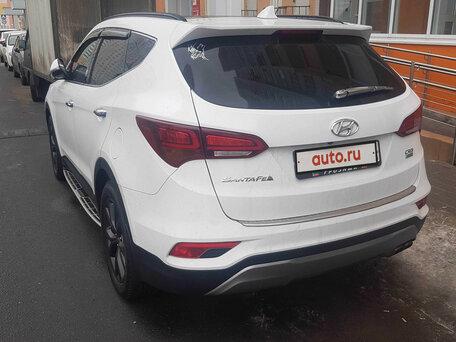 Купить Hyundai Santa Fe пробег 55 853.00 км 2017 год выпуска