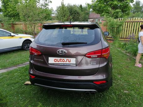 Купить Hyundai Santa Fe пробег 125 000.00 км 2012 год выпуска