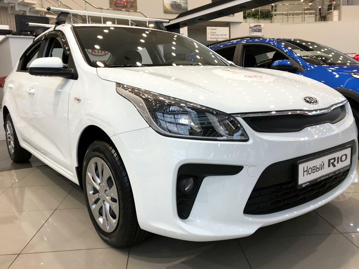 c89f9b9f57c6f Купить новый Kia Rio IV в Санкт-Петербурге: Киа Рио IV 2018 года — Авто.ру
