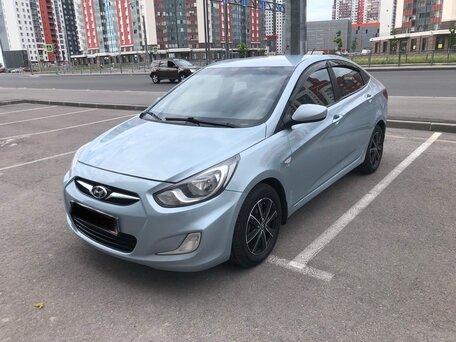 Купить Hyundai Solaris пробег 155 000.00 км 2011 год выпуска