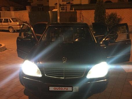 Купить Mercedes-Benz S-klasse пробег 286 000.00 км 2002 год выпуска