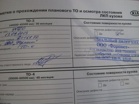Купить KIA Cerato пробег 103 000.00 км 2011 год выпуска