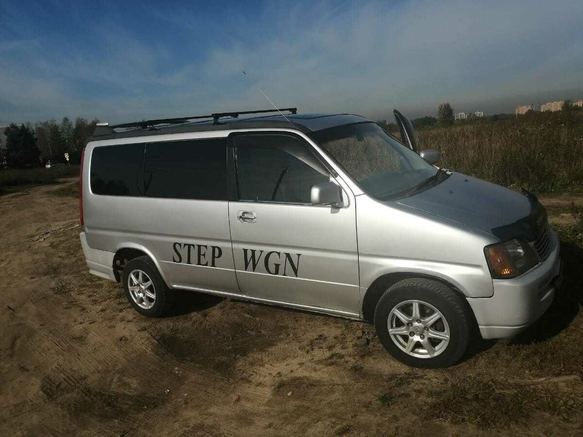 Купить б/у Honda Stepwgn I 2.0 AT (125 л.с.) 4WD бензин ...