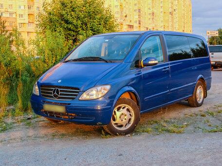 Купить Mercedes-Benz Viano пробег 205 923.00 км 2004 год выпуска