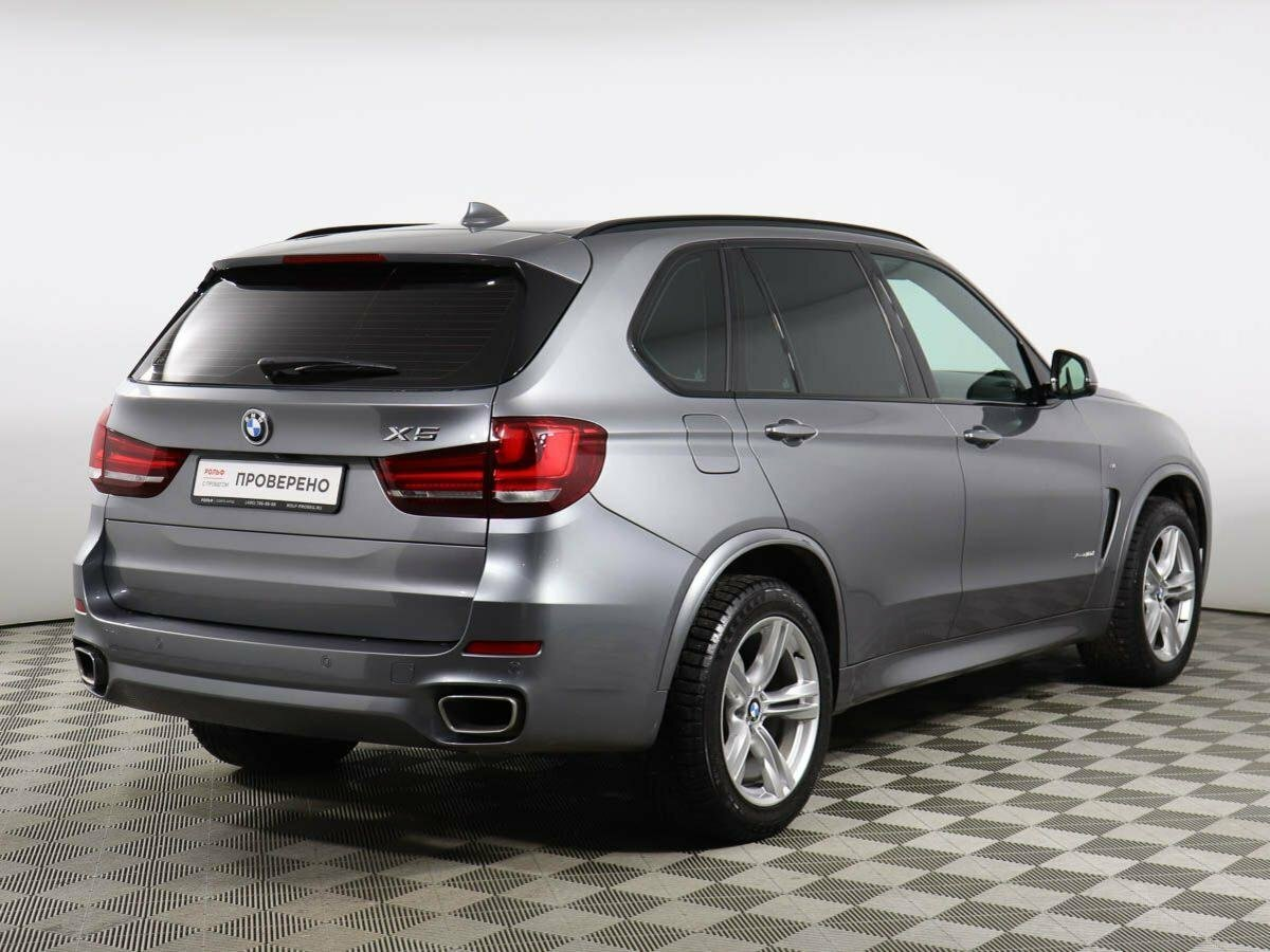 Купить б/у BMW X5 III (F15) 40d 3.0d AT (313 л.с.) 4WD ...