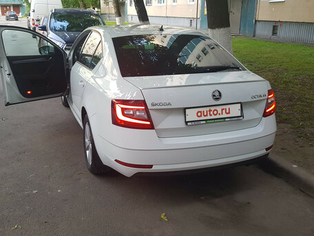 Купить Skoda Octavia пробег 22 800.00 км 2018 год выпуска