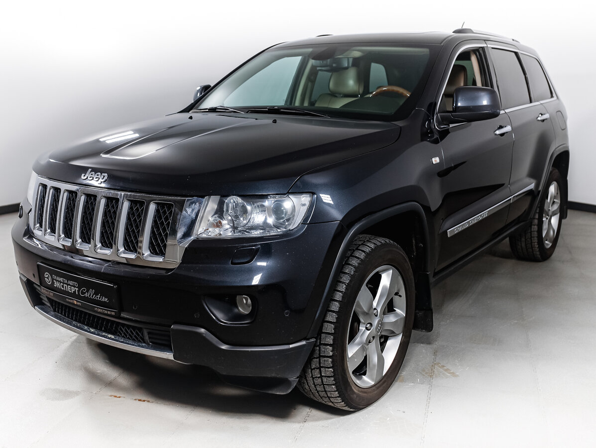 2012 Jeep Grand Cherokee  IV (WK2), серый - вид 1