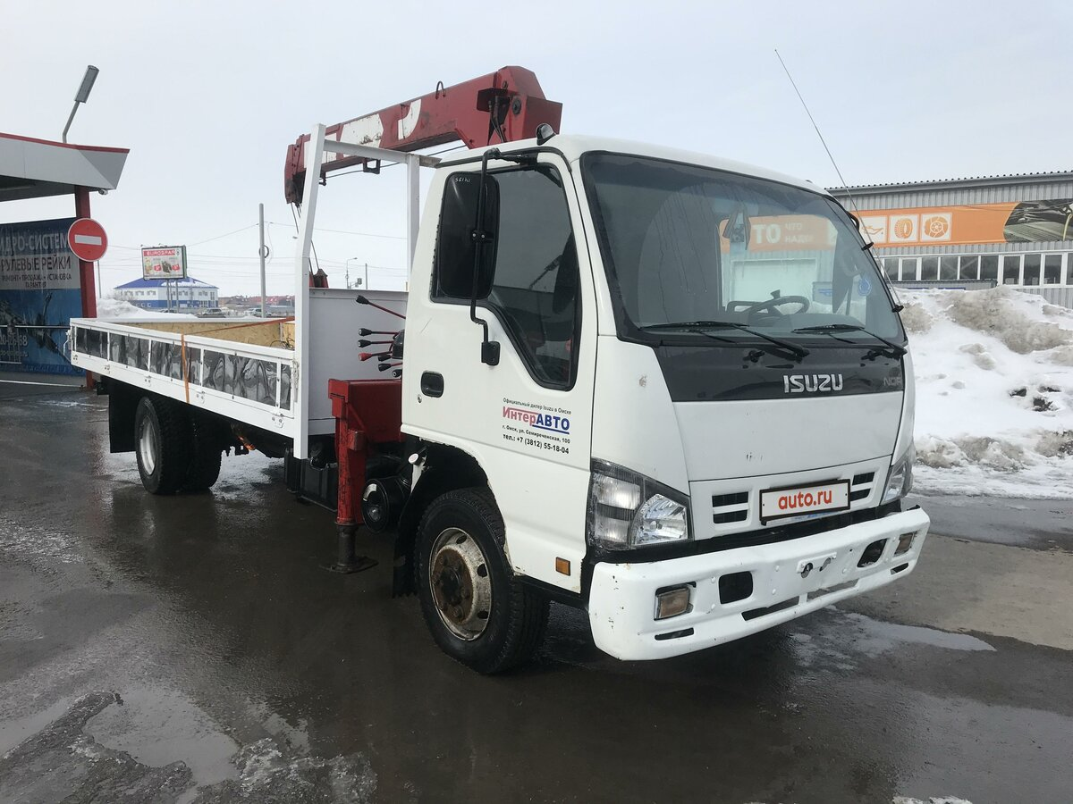 2008 Isuzu Elf (N-series), белый - вид 9