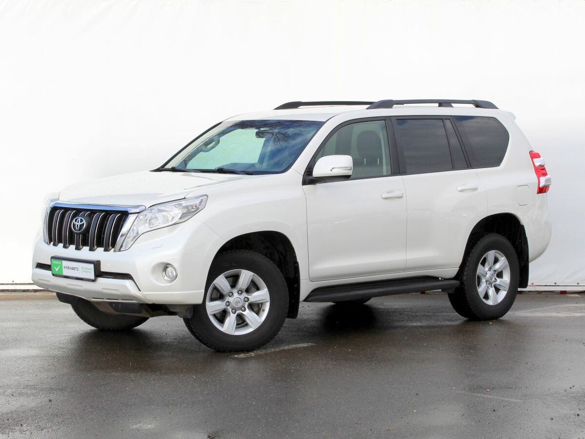 2015 Toyota Land Cruiser Prado  150 Series Рестайлинг 1, белый