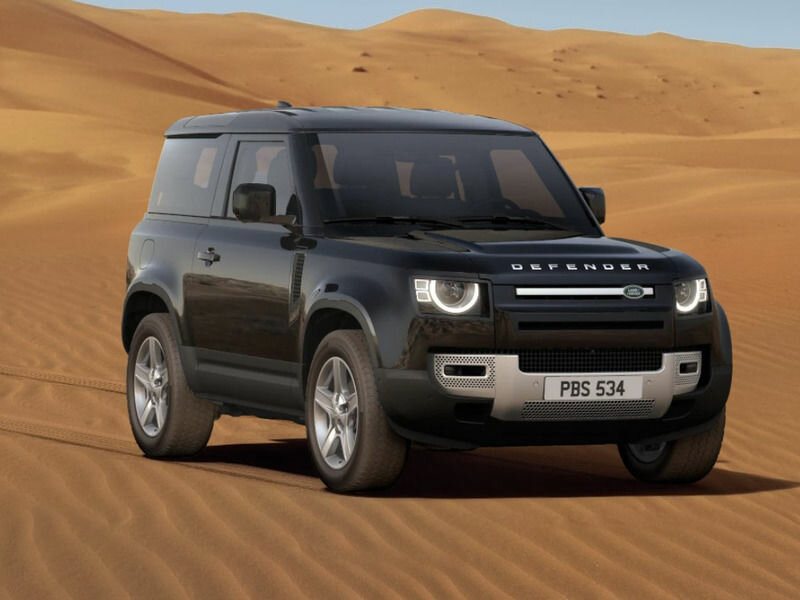 2021 Land Rover Defender  II 90, чёрный