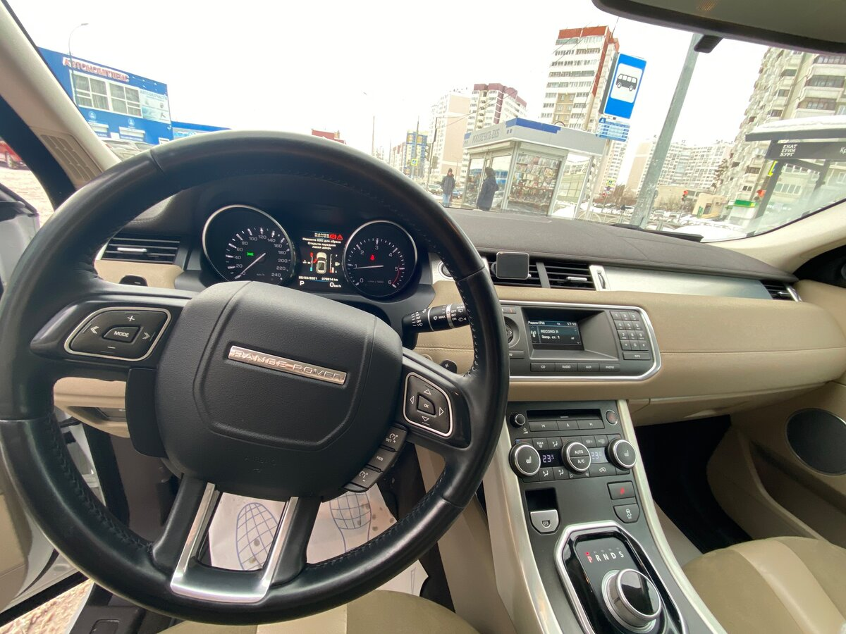 2012 Land Rover Range Rover Evoque  I 6-speed, белый - вид 14