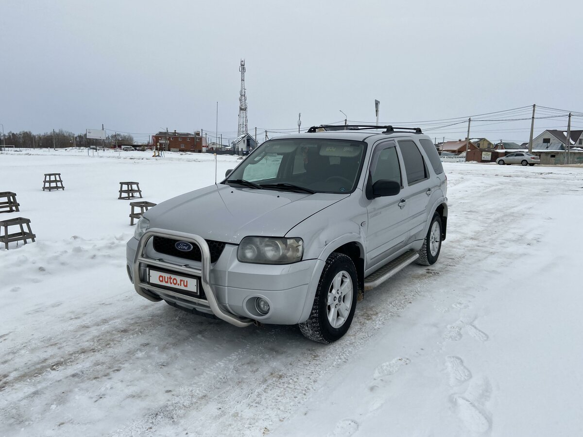 2006 Ford Maverick  II, серебристый