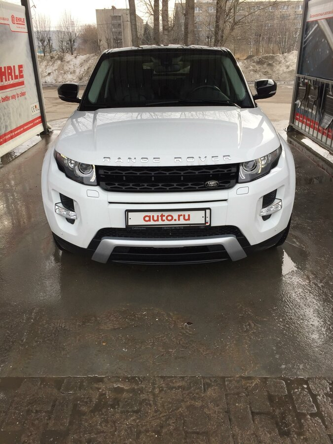 2013 Land Rover Range Rover Evoque  I 9-speed, белый, 1949000 рублей - вид 4