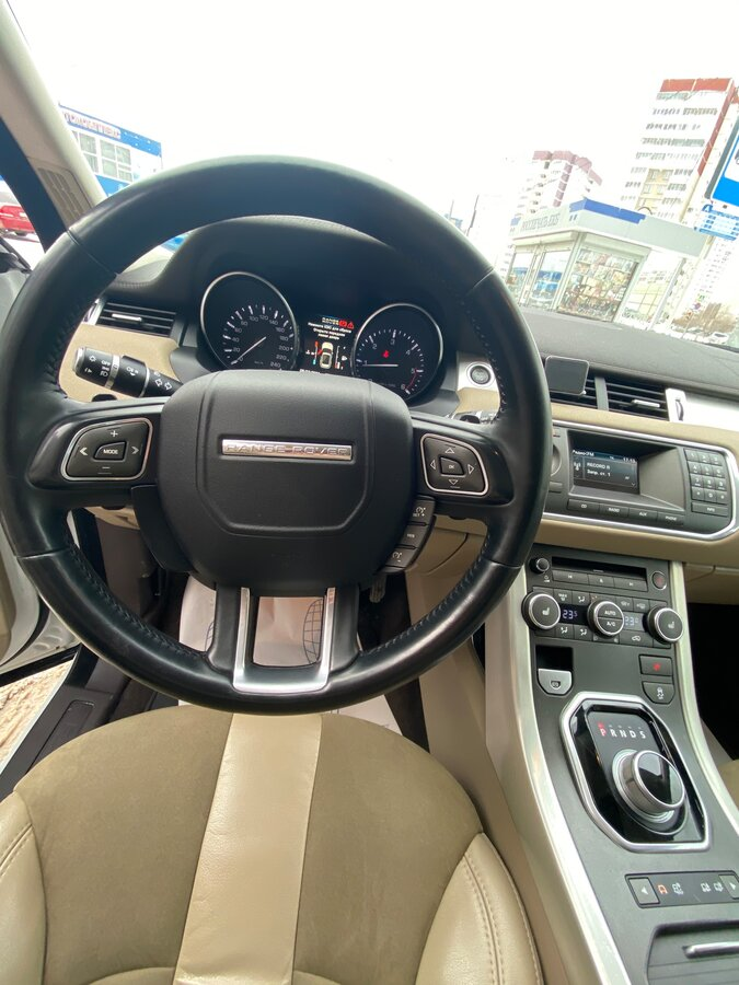 2012 Land Rover Range Rover Evoque  I 6-speed, белый - вид 15