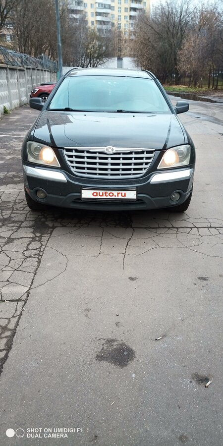 2003 Chrysler Pacifica  CS, чёрный