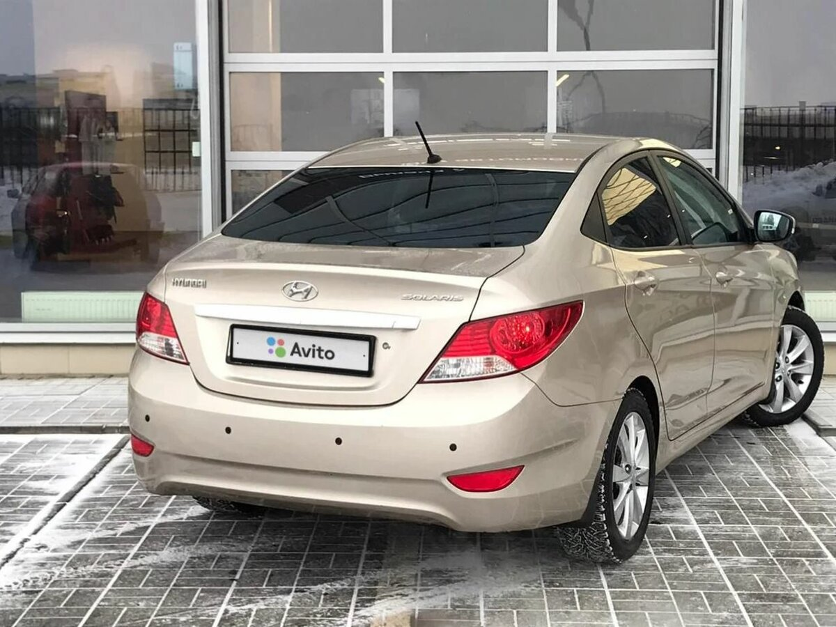 Hyundai   Solaris, I