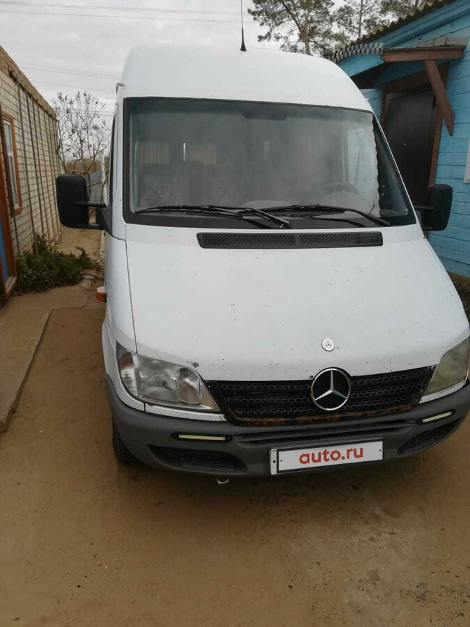 2002 Mercedes-Benz Sprinter, белый - вид 6