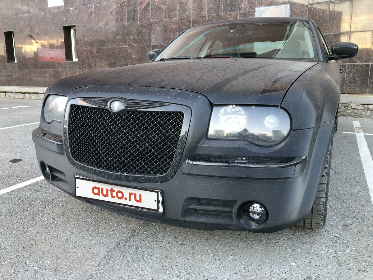 2005 Chrysler 300C  I, чёрный