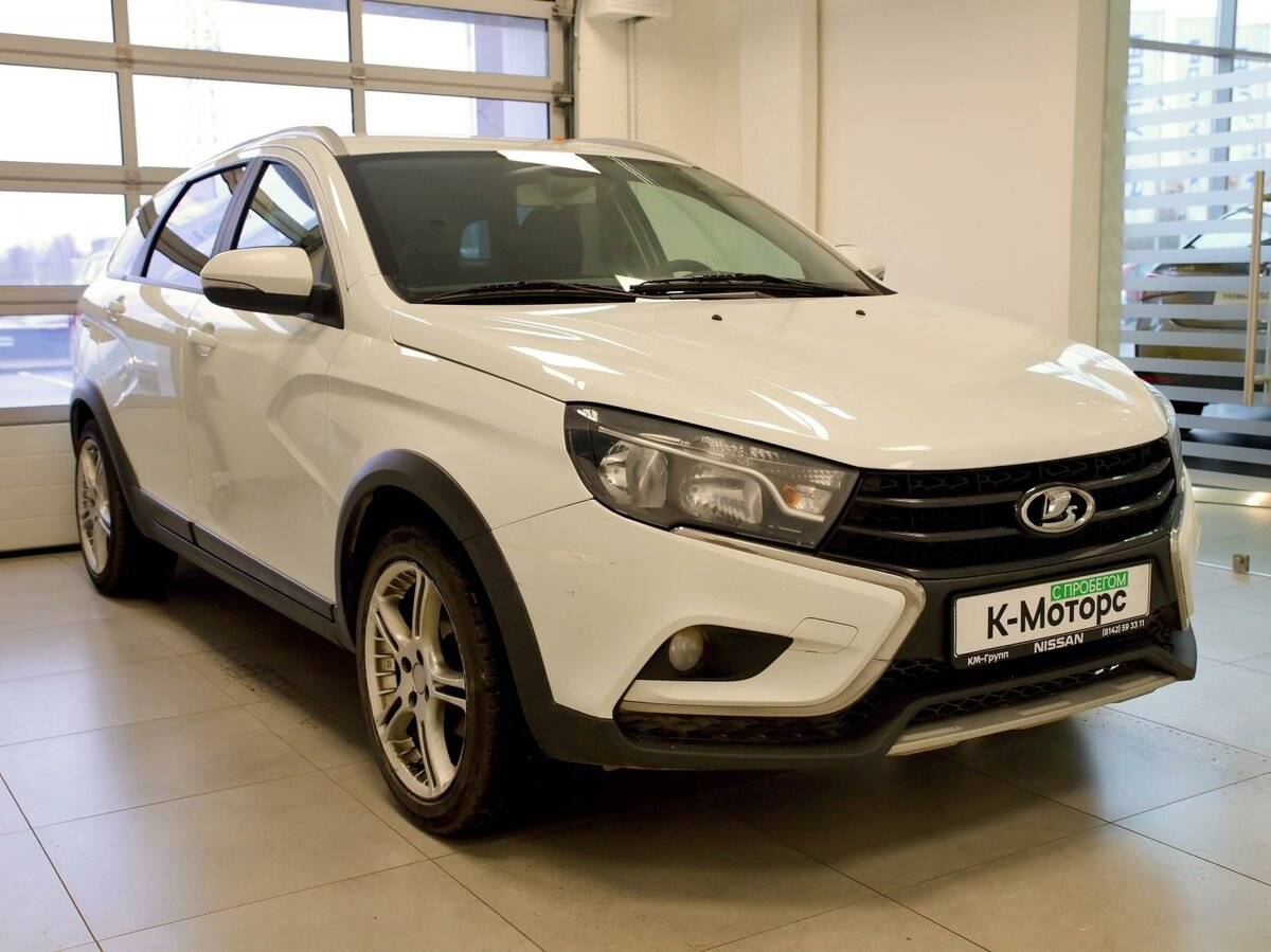 2018 LADA (ВАЗ) Vesta  I SW Cross, белый - вид 2