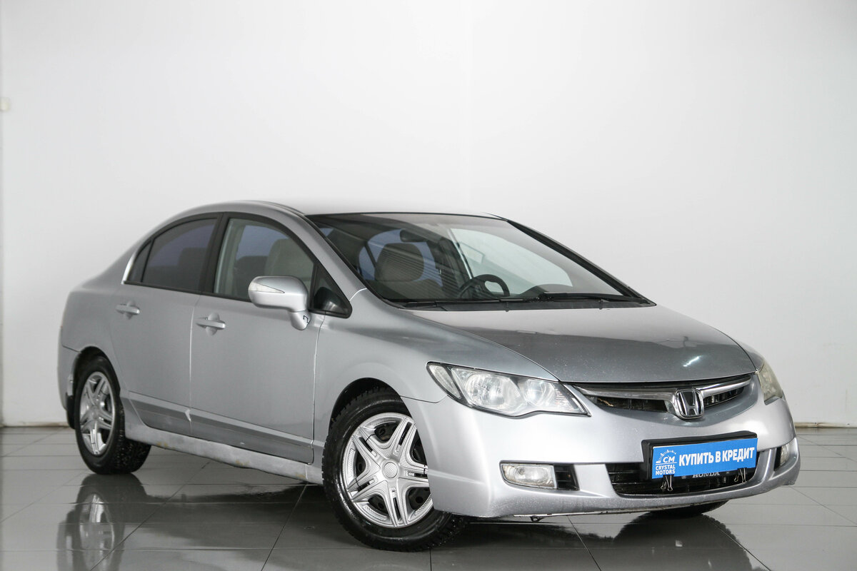 2007 Honda Civic  VIII, серебристый