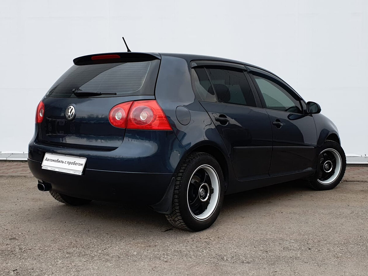 2006 Volkswagen Golf  V, синий - вид 1