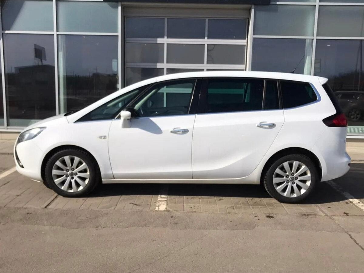 Opel | Zafira, A Рестайлинг