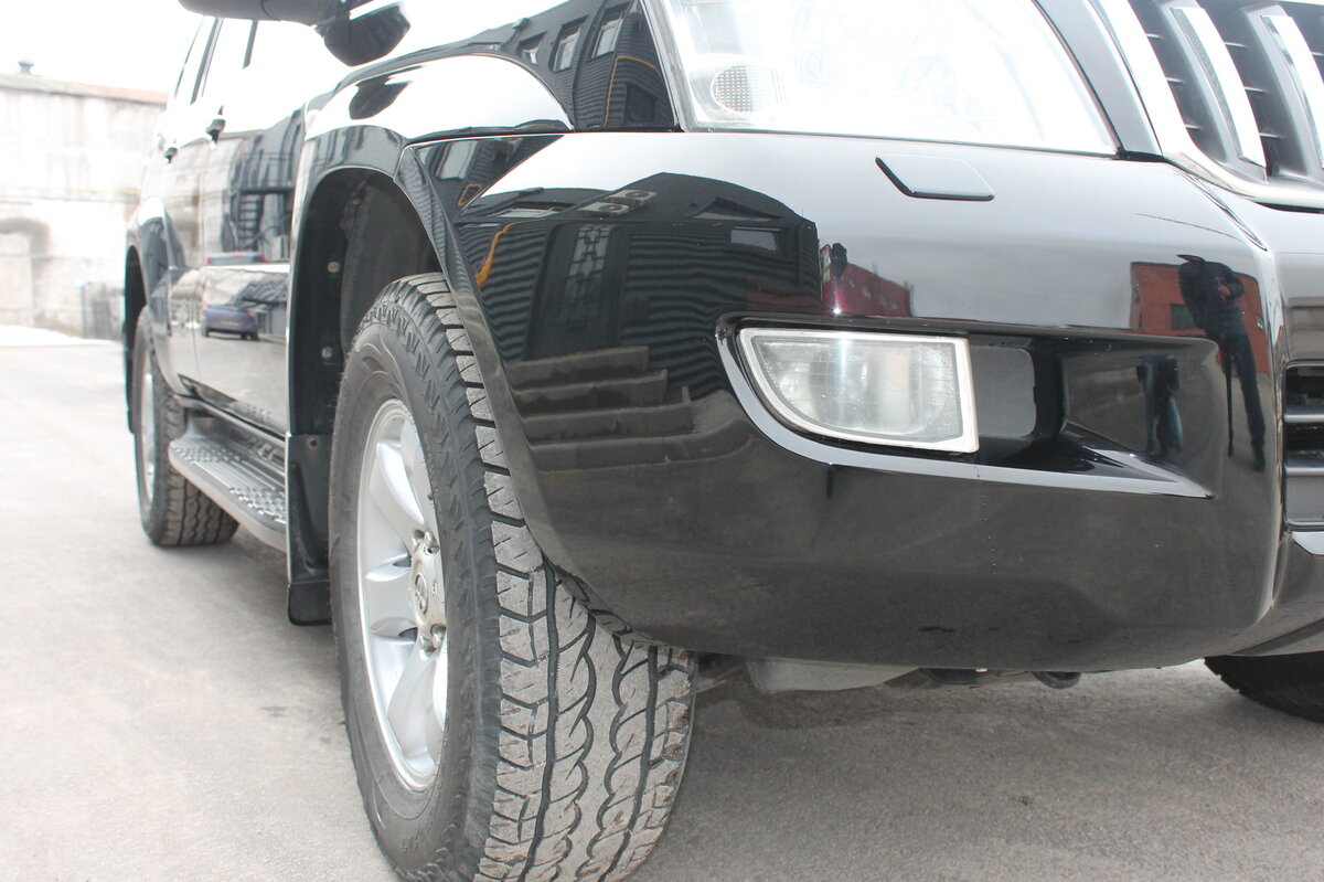 2005 Toyota Land Cruiser Prado  120 Series 5-speed, чёрный - вид 5