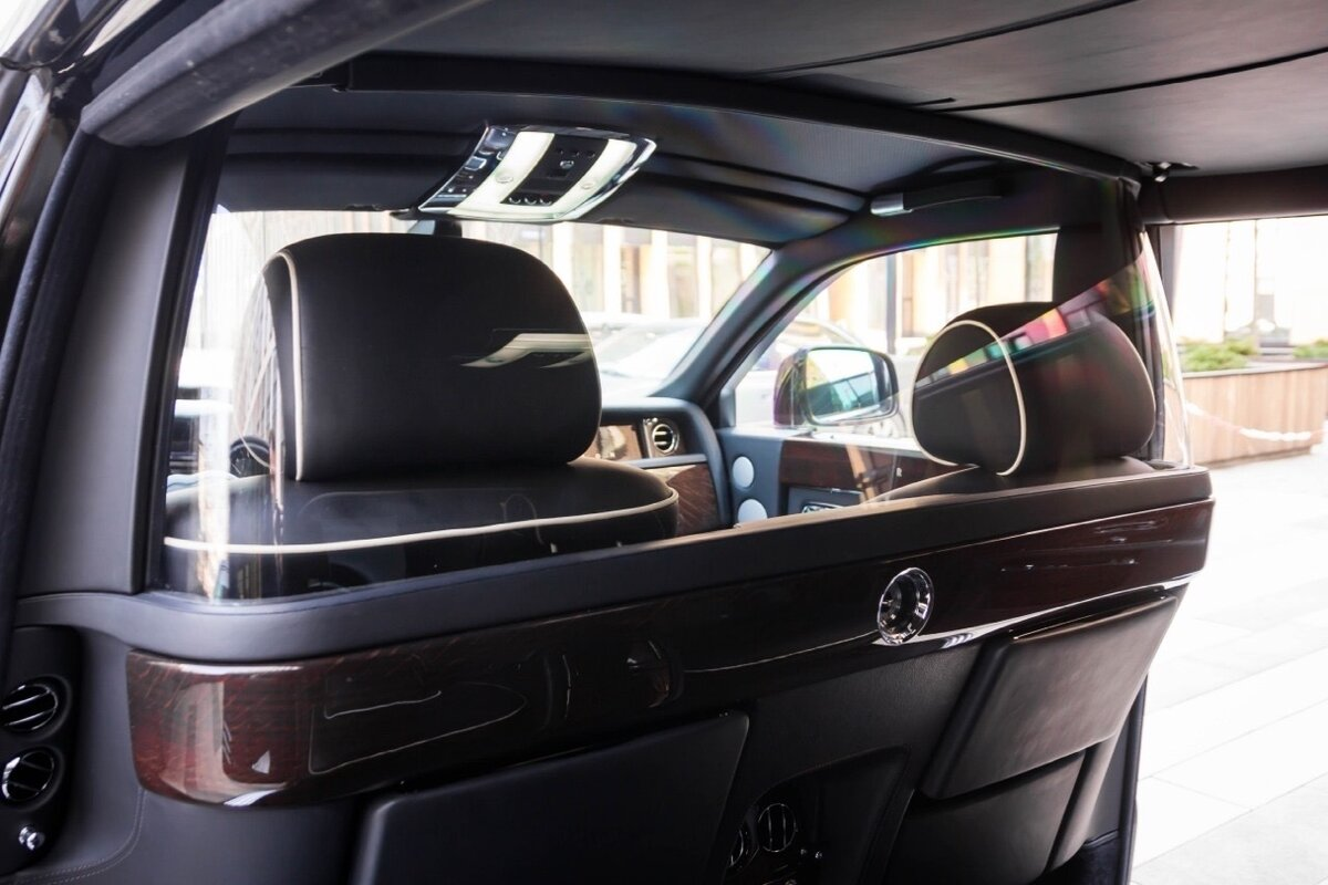 2014 Rolls-Royce Phantom Long VII Рестайлинг (Series II) Extended Wheelbase, чёрный, 22500000 рублей - вид 8
