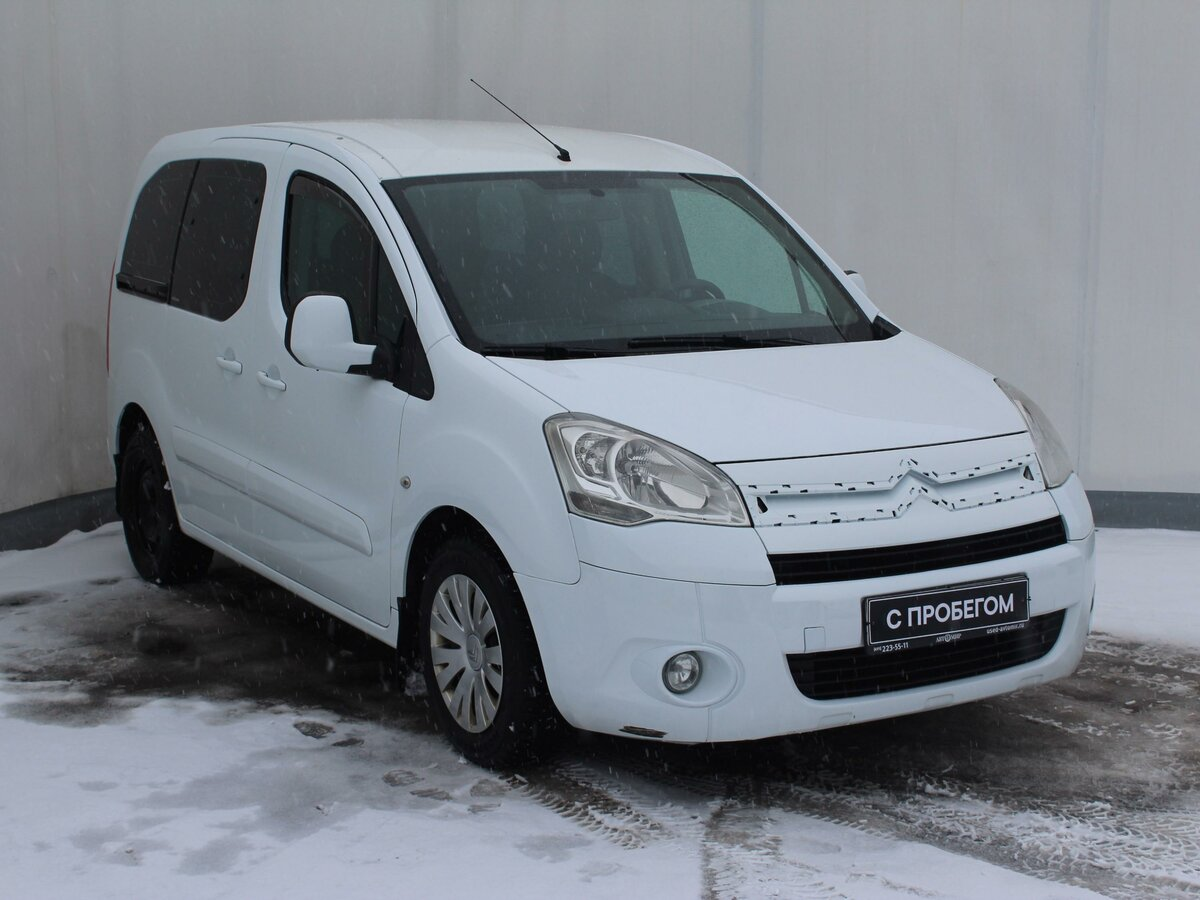 2011 Citroen Berlingo  II, белый - вид 2