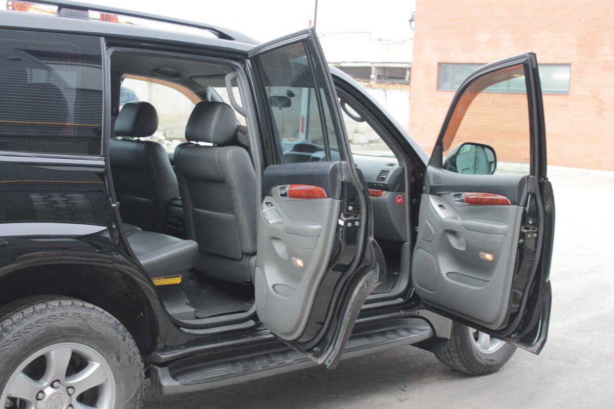 2005 Toyota Land Cruiser Prado  120 Series 5-speed, чёрный - вид 16