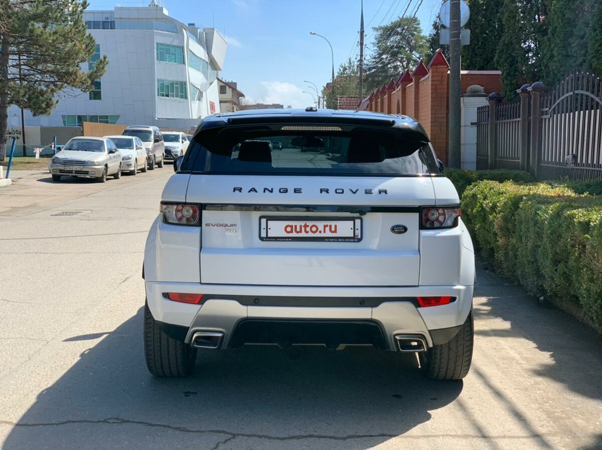 2012 Land Rover Range Rover Evoque  I 6-speed, белый, 1290000 рублей - вид 3
