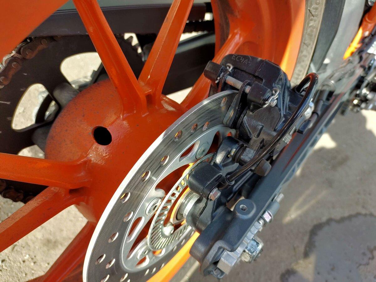 Купить б/у KTM 390 Duke инжектор 6 передач в Санкт