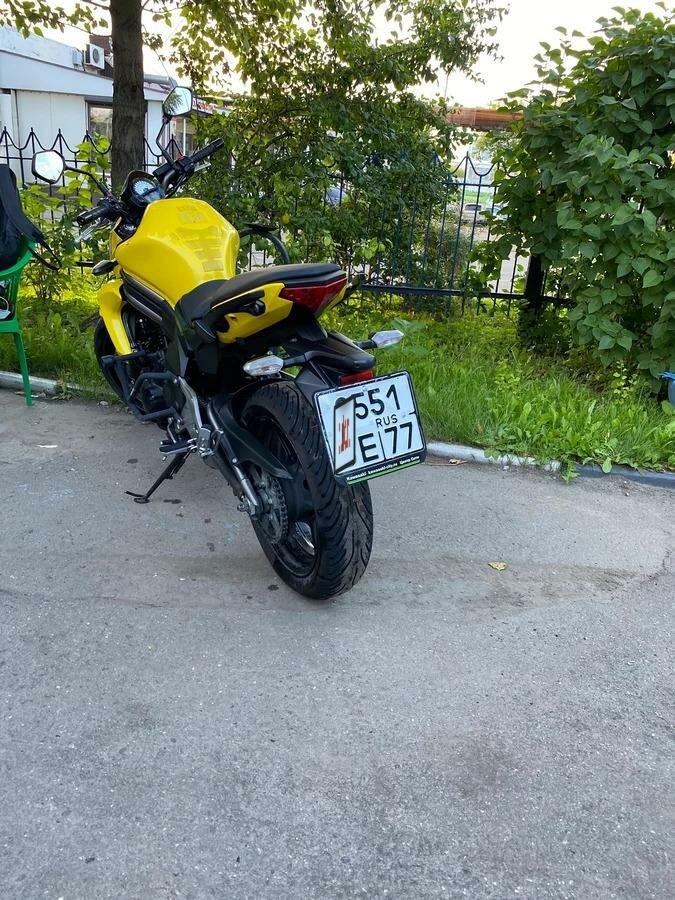 Купить б/у Kawasaki ER-6n инжектор 5 передач в Москве