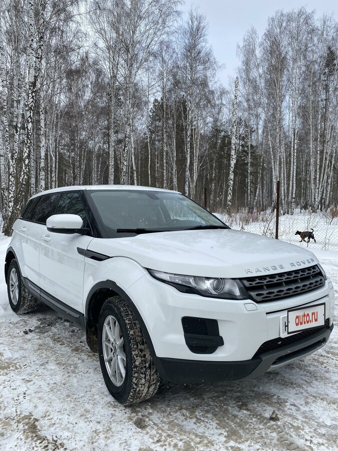 2012 Land Rover Range Rover Evoque  I 6-speed, белый - вид 3