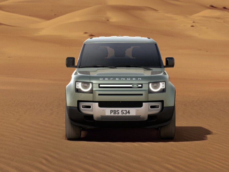 2021 Land Rover Defender  II 90, зелёный - вид 1