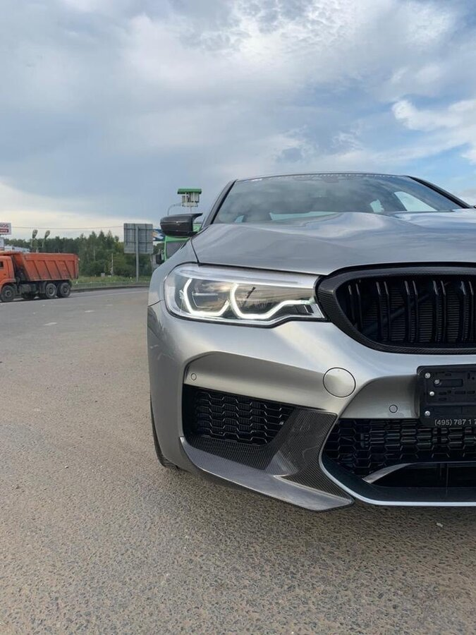 2019 BMW M5  VI (F90) Competition, серый - вид 2