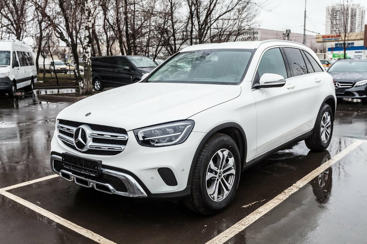 2020 Mercedes-Benz GLC  I (X253) Рестайлинг 220 d, белый, 4690000 рублей