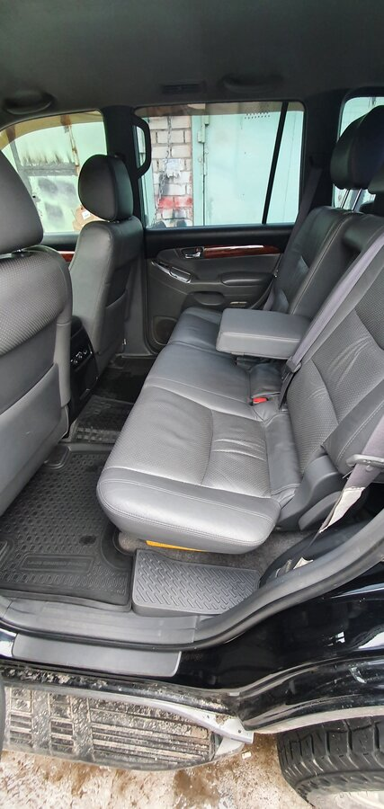 2005 Toyota Land Cruiser Prado  120 Series 5-speed, чёрный - вид 18
