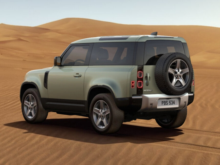 2021 Land Rover Defender  II 90, зелёный - вид 2