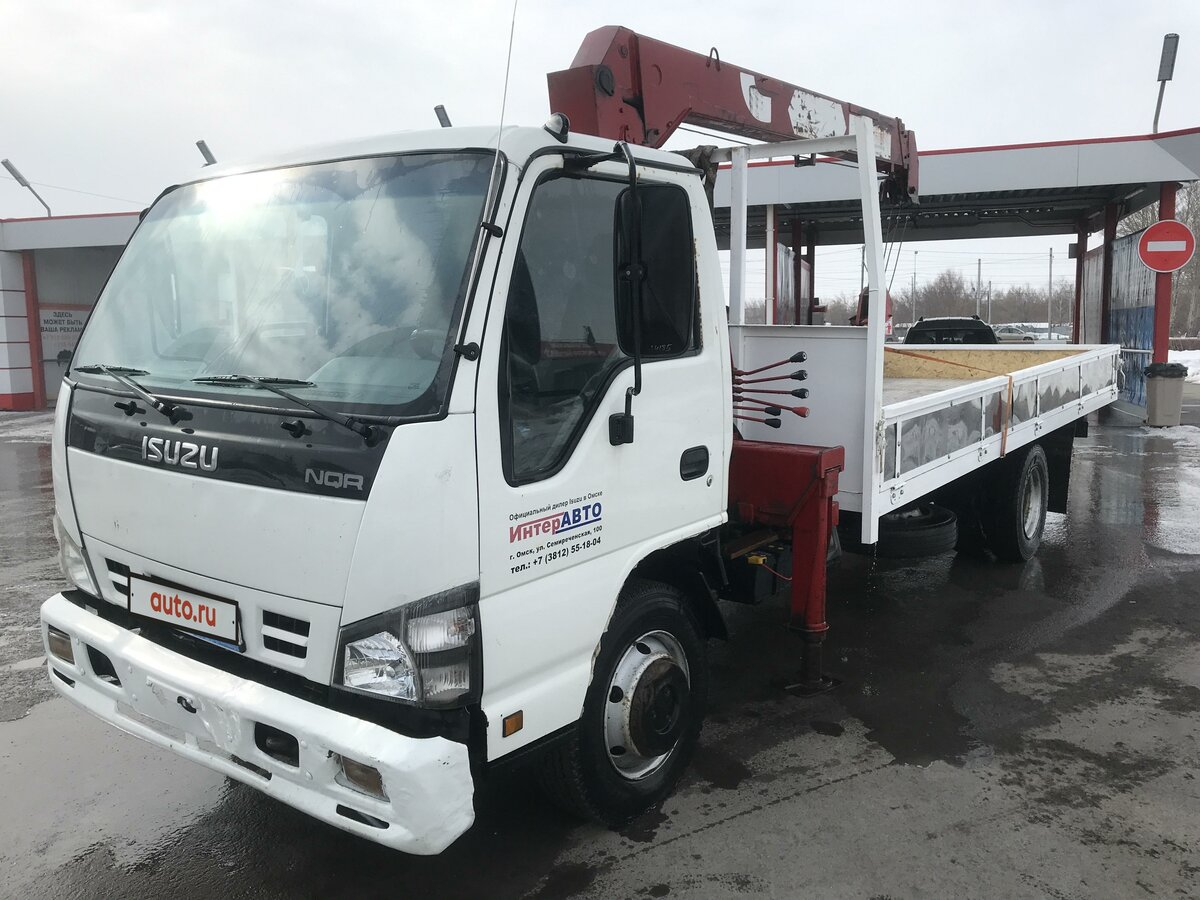 2008 Isuzu Elf (N-series), белый - вид 7