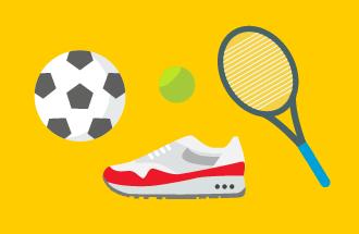 Популярные виды спорта в поиске Яндекса