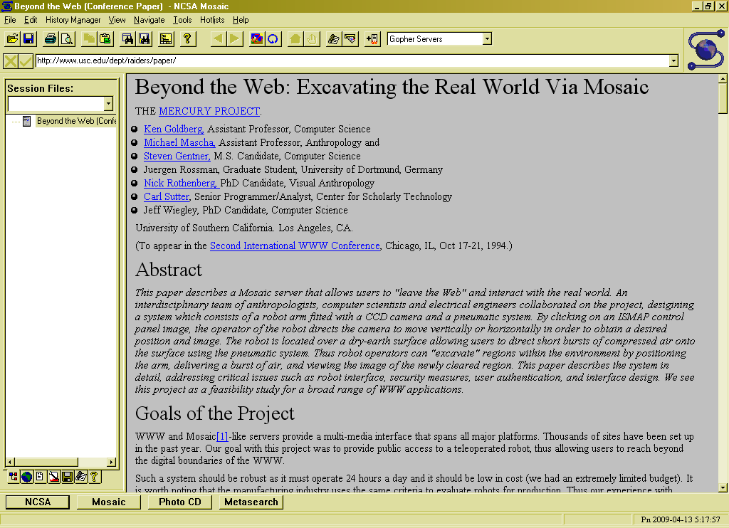 the evolution of web browsers essay