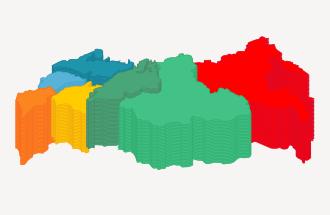 Интернет в регионах. 2012