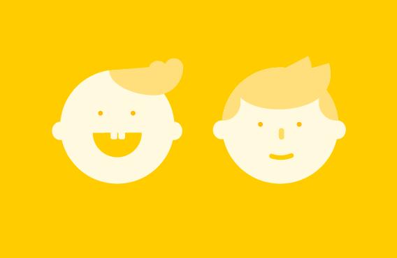 Что спрашивают у Яндекса о детях разного возраста
