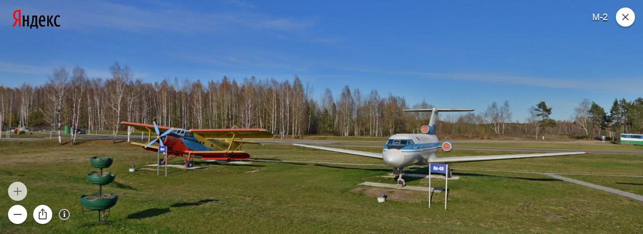 Выставка авиатехники в Национальном аэропорту Минска