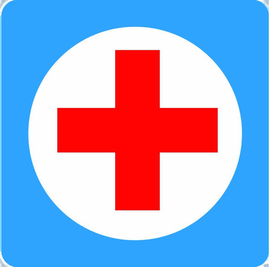 Картинка медицинский крест в круге