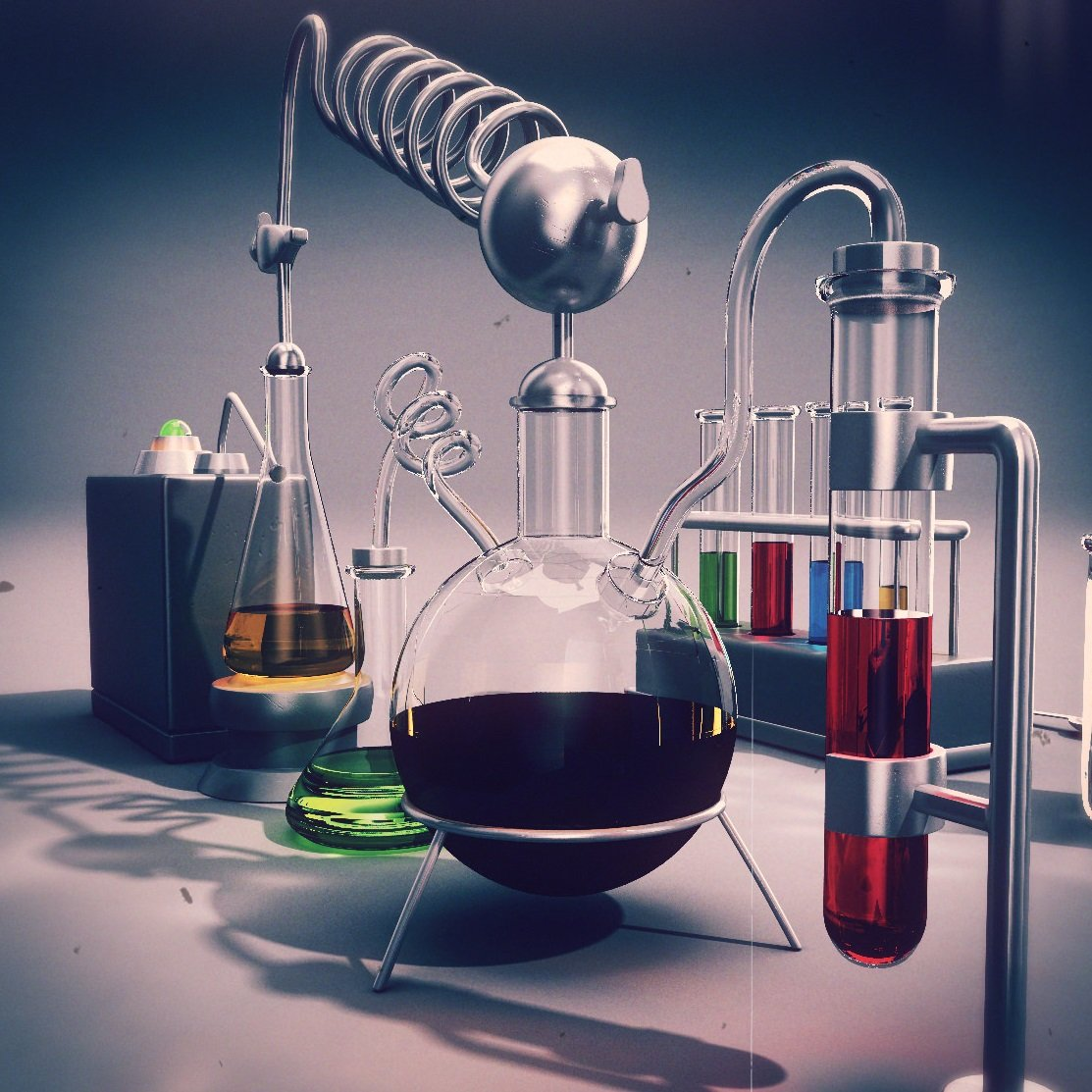 лес химические картинки для оформления картинку