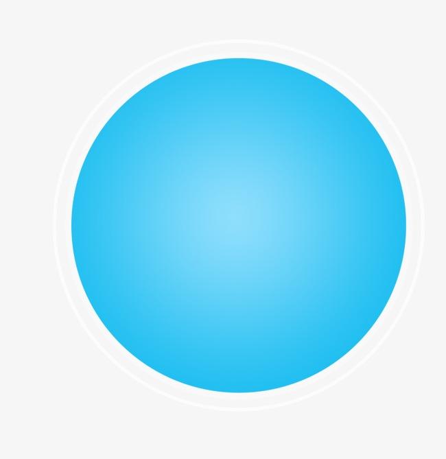 картинка синего круга